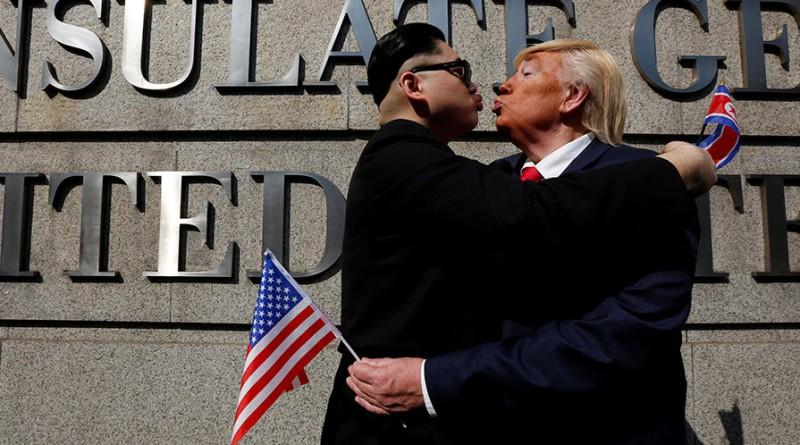 Трамп угрожает Ким Чен Ыну