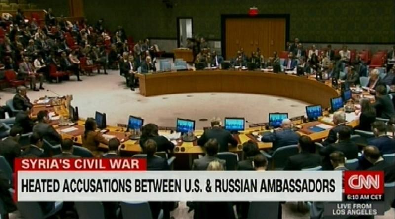Небензя в ООН предупредил США о тяжёлых последствиях удара по Сирии. Новость появилась на CNN
