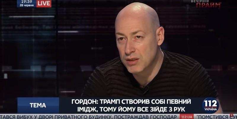 Запад слаб и безволен, Путин ведет себя как слон. Гордон шокировал украинцев