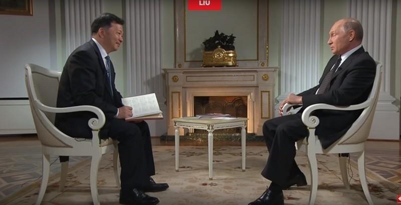 Интервью Путина китайскому журналисту. Смотрите о чём беседовали