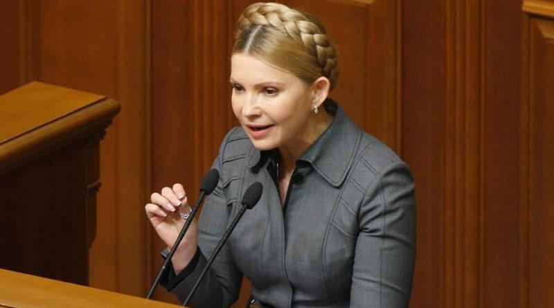 По опросам Тимошенко президент Украины, на втором месте Гриценко