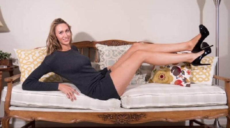 У американки Лорен Уильямс оказались самые длинные ноги в мире