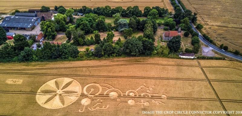 Послание пришельцев обнаружено в графстве Эссекс (4 фото)