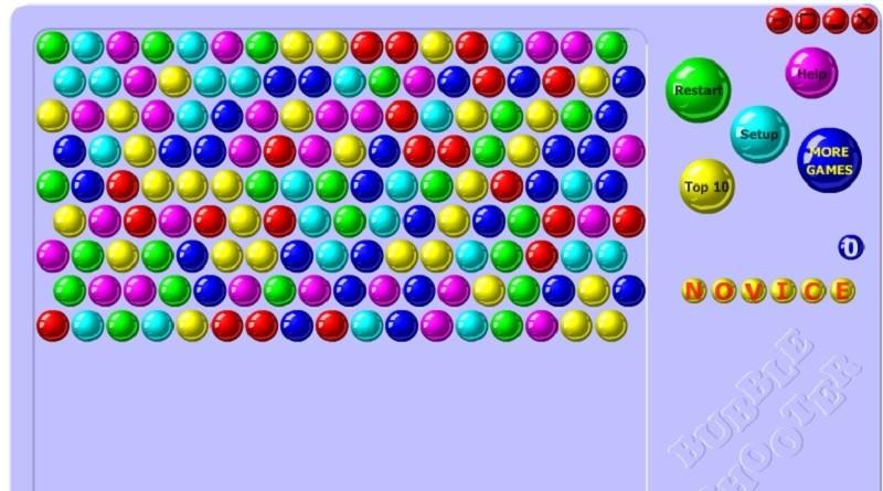 Bubble Shooter онлайн - отличная игра для свободного времени