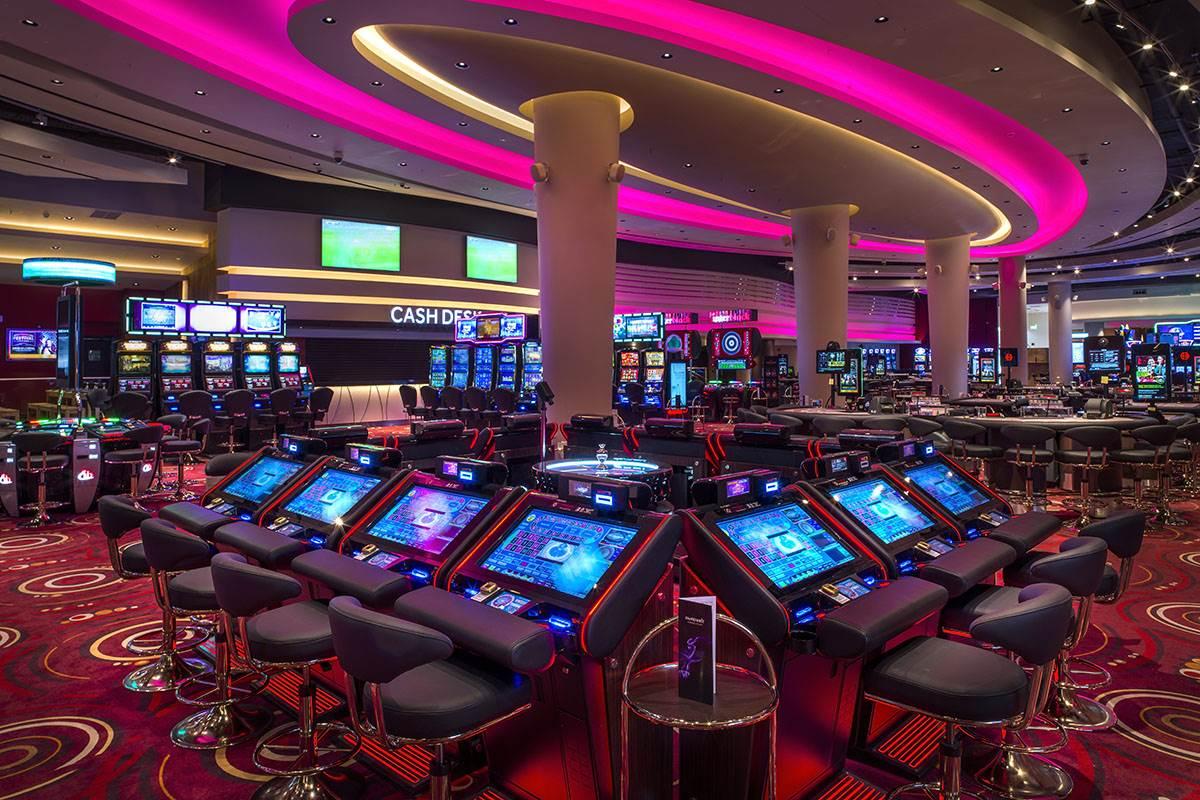 поле рулетки в казино