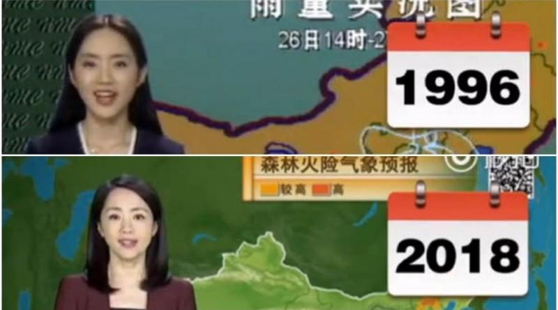 Ведущая погода Ян Дан может быть пришельцем (видео доказательства)