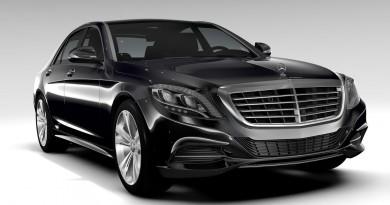 Как выглядит Mercedes-Benz S-Class (W222) (19 фото)
