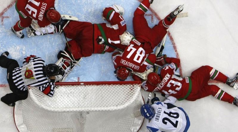 Такое возможно только в хоккее. 20 жёстких снимков не для слабонервных