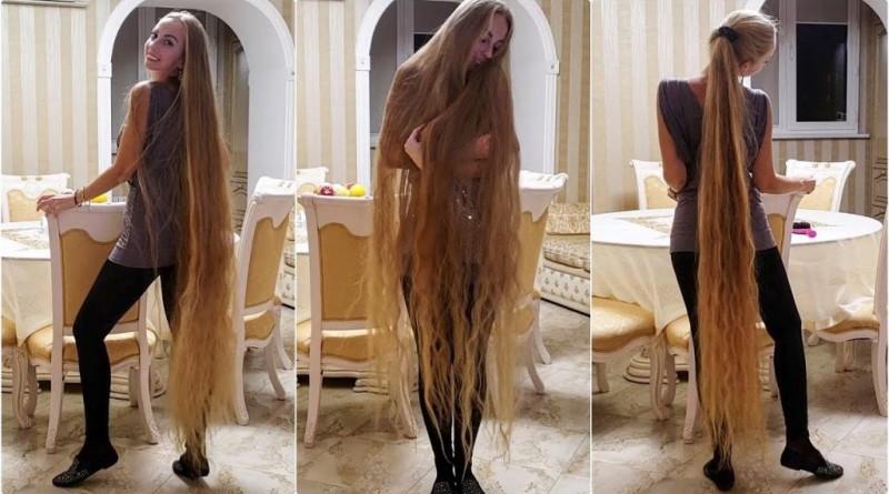 Девушка из Украины не стриглась 28 лет и выглядит сейчас следующим образом (19 фото)