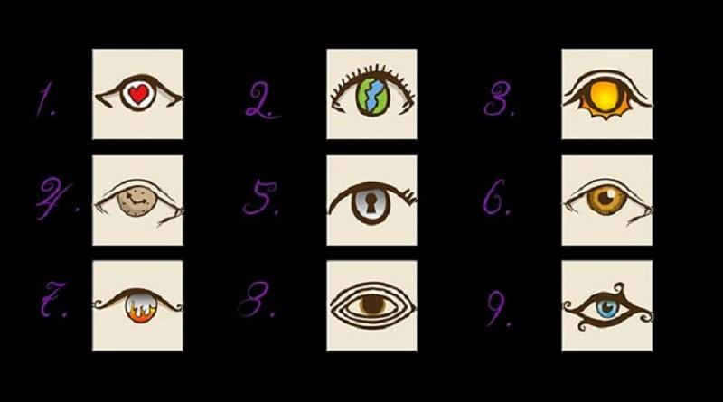Личностный тест. Выберите глаз и он расскажет какой Вы человек