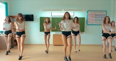 Перспективные девушки танцовщицы из Омска стремительно набирают популярность (3 видео)
