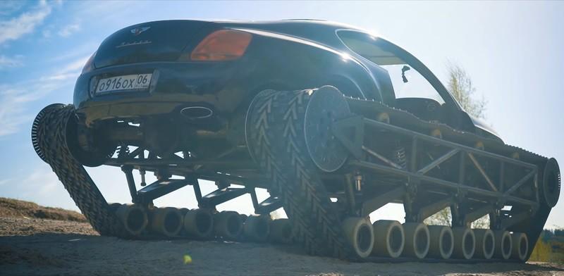 Bentley Ultratank - в России изобрели нечто невероятное