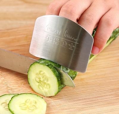 Защита для пальцев при нарезании фруктов и овощей