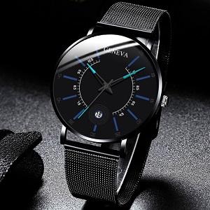 Relogio Masculino 2020 Модные мужские деловые минималистичные часы
