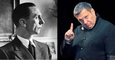 Сможете отличить Геббельса от Соловьева?