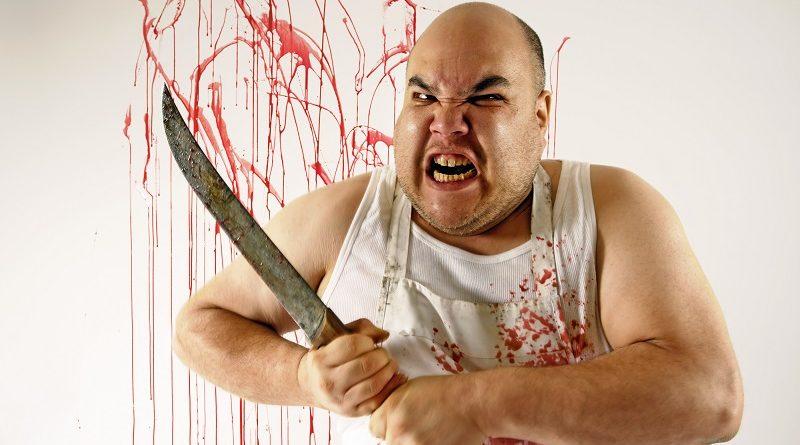 Детективная головоломка на определение убийцы с ножем
