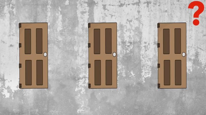 Выберите правильную дверь для спасения - 50% проходимость