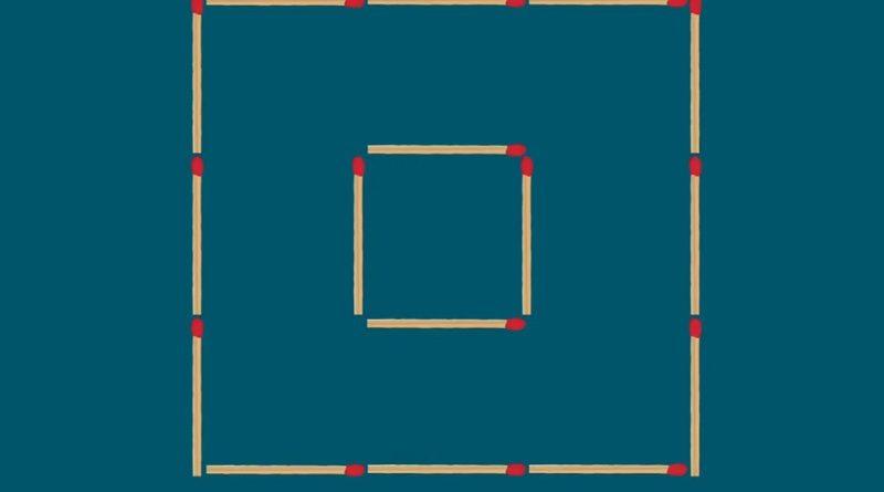 Сделайте из двух три квадрата - 90% не справляются с задачей
