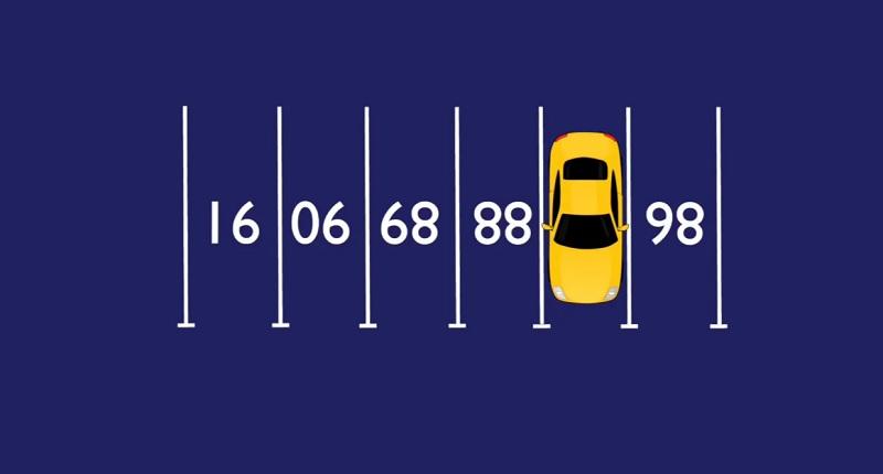 Какой скрыт номер под автомобилем? Проходимость 50%
