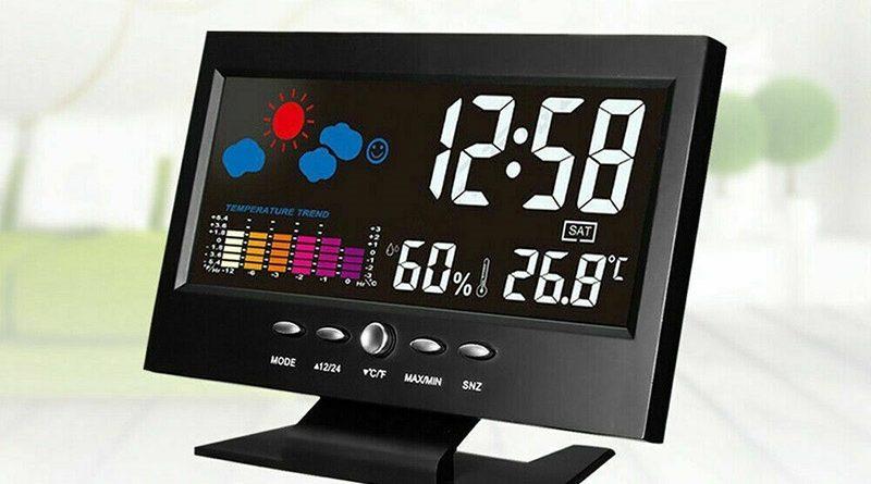 Умная метеостанция с цифровым дисплеем набирает популярность на Алиэкспресс