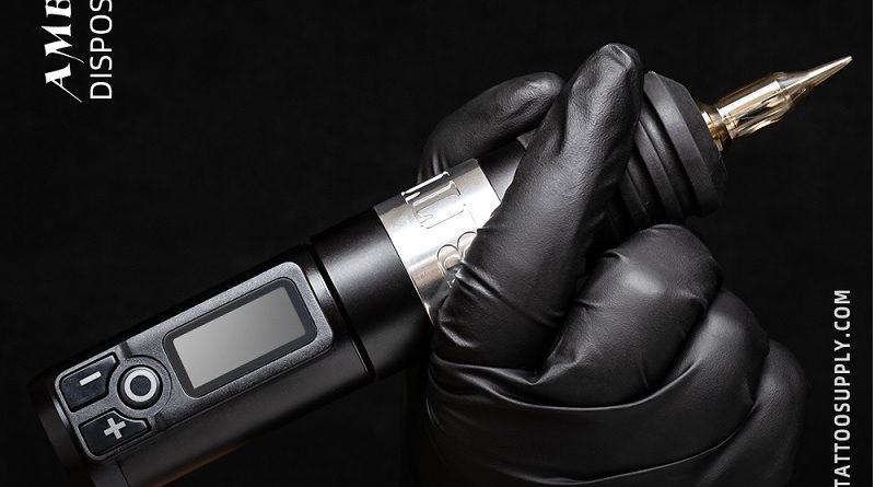 Беспроводная тату машинка ручка для начинающих где купить