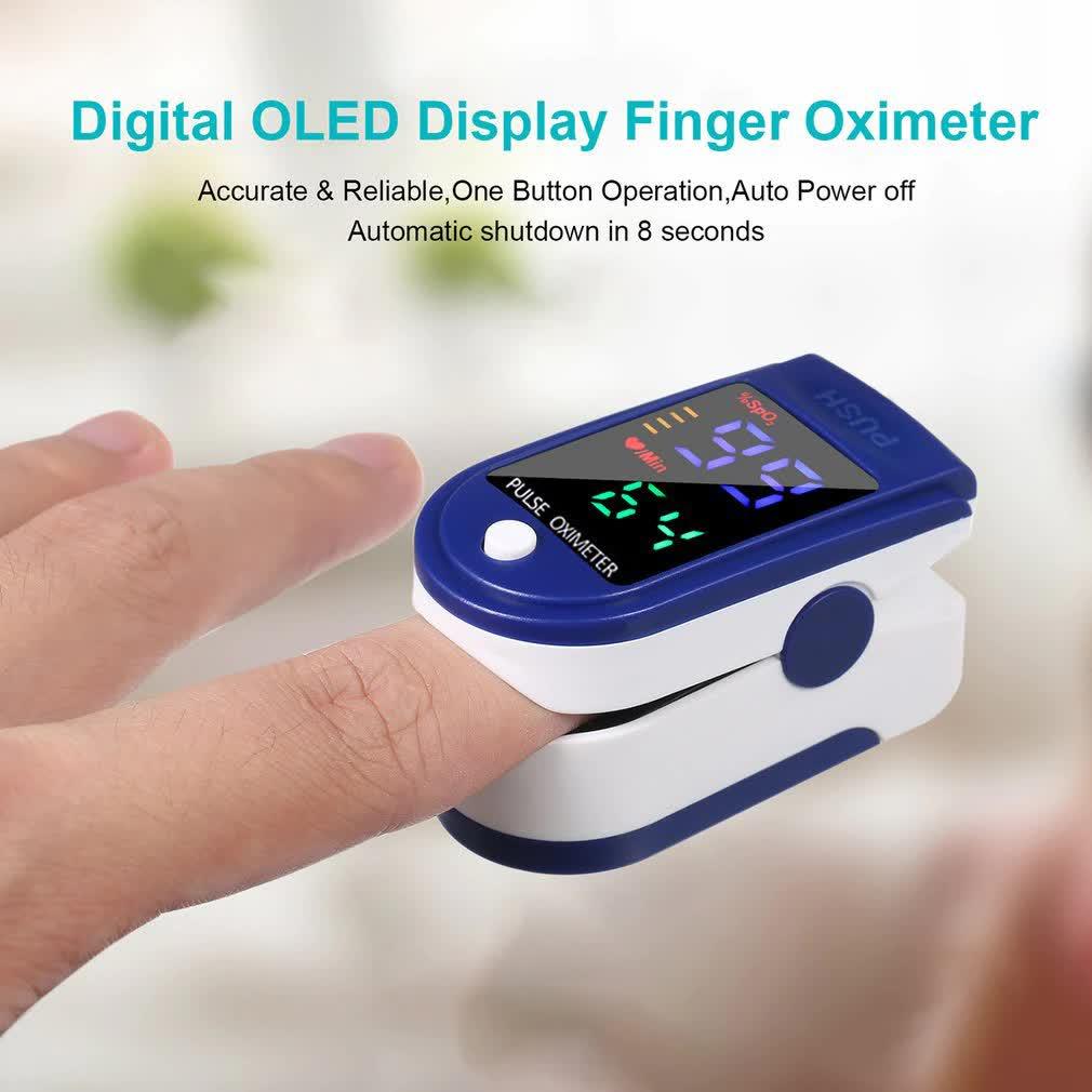 Пульсоксиметр оксиметр цифровой на палец где купить онлайн